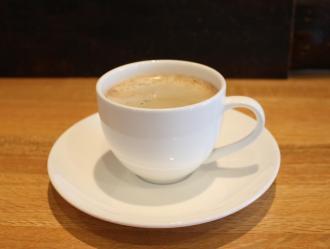 地元のお茶屋さんが焙煎した挽きたてコーヒー